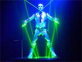 烟台激光舞荧光舞表演和会议服务